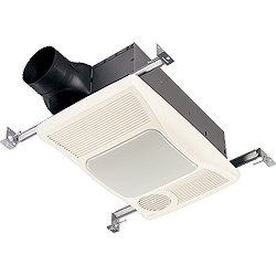Broan 100HFL Bathroom Exhaust Fan With Heater Parts